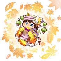 【イラスト】秋の味【焼き芋】