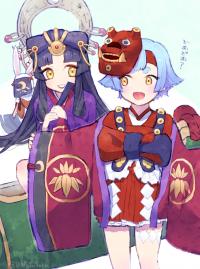 金魚姫とかぐや姫