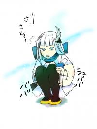 【イラスト】冬の雪女ちゃん
