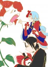 金魚草と金魚姫