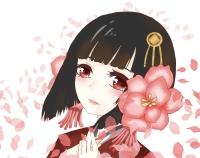 【イラスト】桜の精
